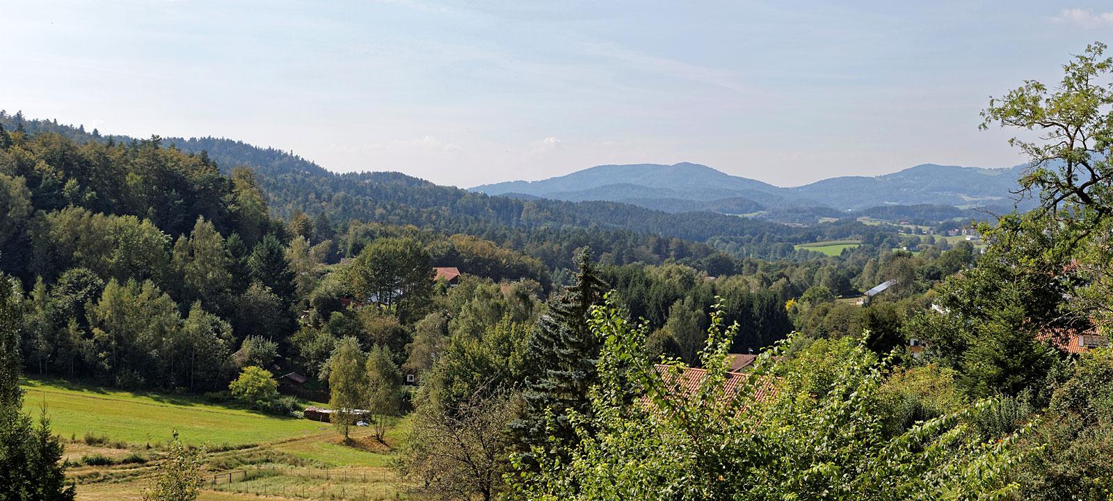 Naturlandschaft im Bayerischen Wald