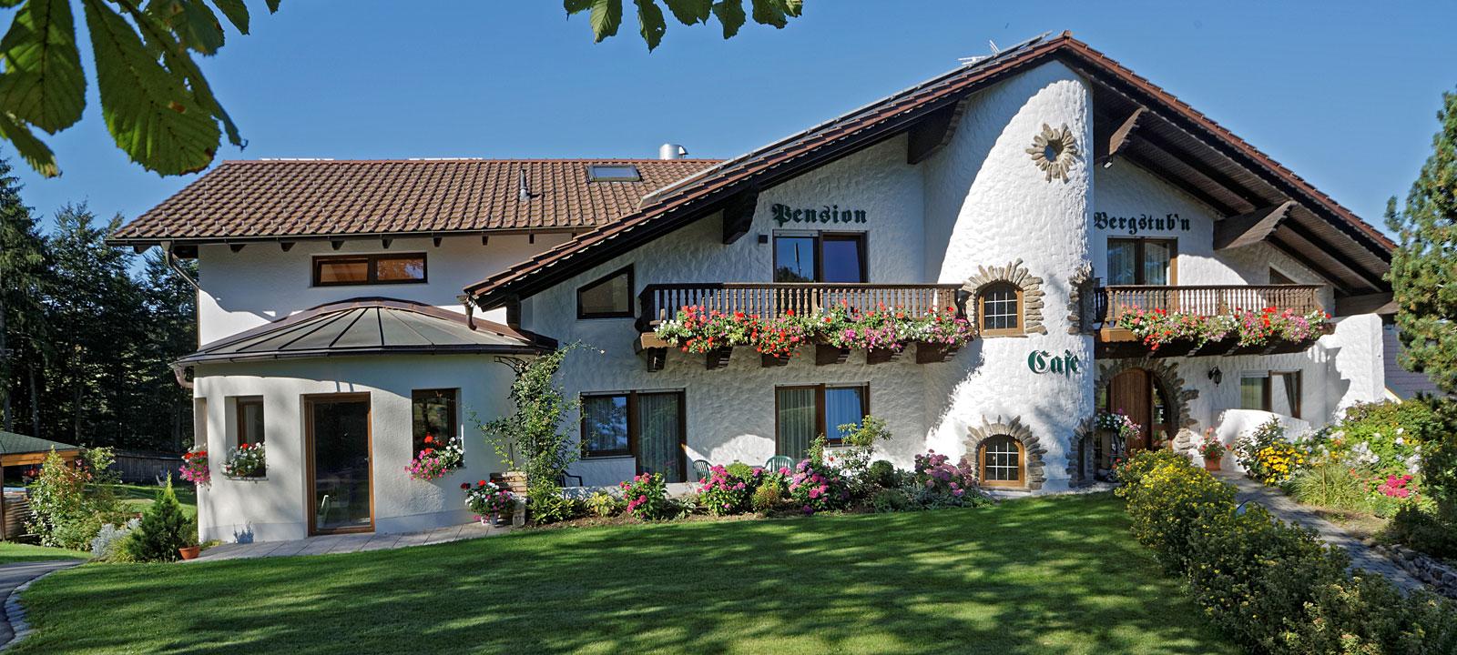 Pension Bergstubn in Saldenburg im Dreiburgenland